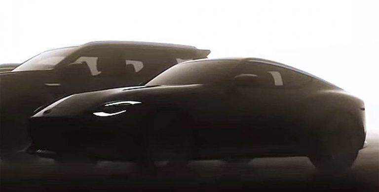 Nissan 400Z może być wspomagany silnikiem elektrycznym