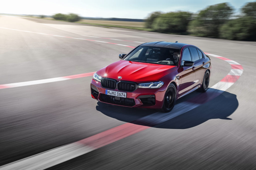 BMW M5 oraz M5 Competition Facelift – dane techniczne, wymiary, silniki