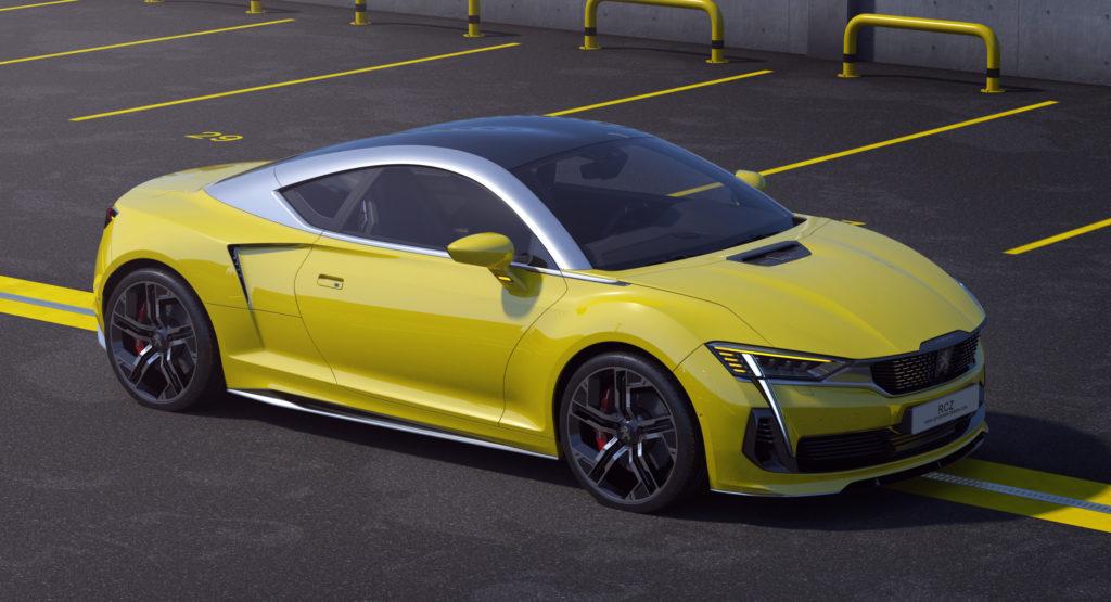 Oto nowy Peugeot RCZ zaprojektowany przez Polaka