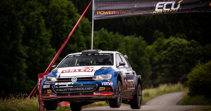 Pierwsze zwycięstwo na polskich odcinkach specjalnych VW Polo GTI R5 ekipy Rallytechnology