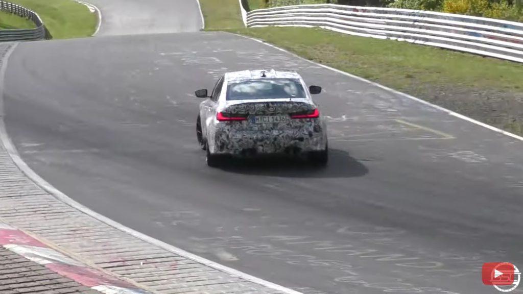 BMW testuje nowe M3 latając bokiem po Nürburgringu