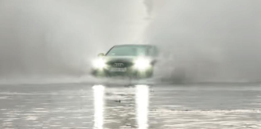 Audi A7 nie potrafi pływać i szybko tonie nawet z napędem Quattro