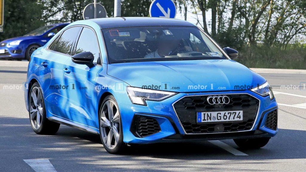 Nowe Audi S3 w pełnej okazałości tuż przed oficjalną premierą