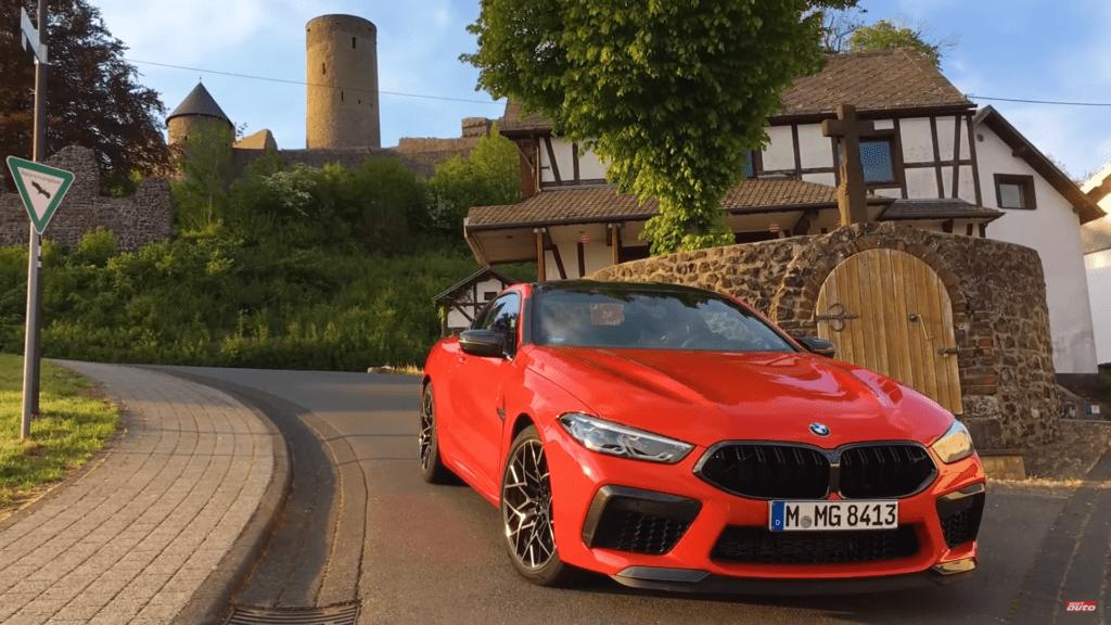BMW M8 Competition osiągnęło czas 7:32 na Nurburgringu