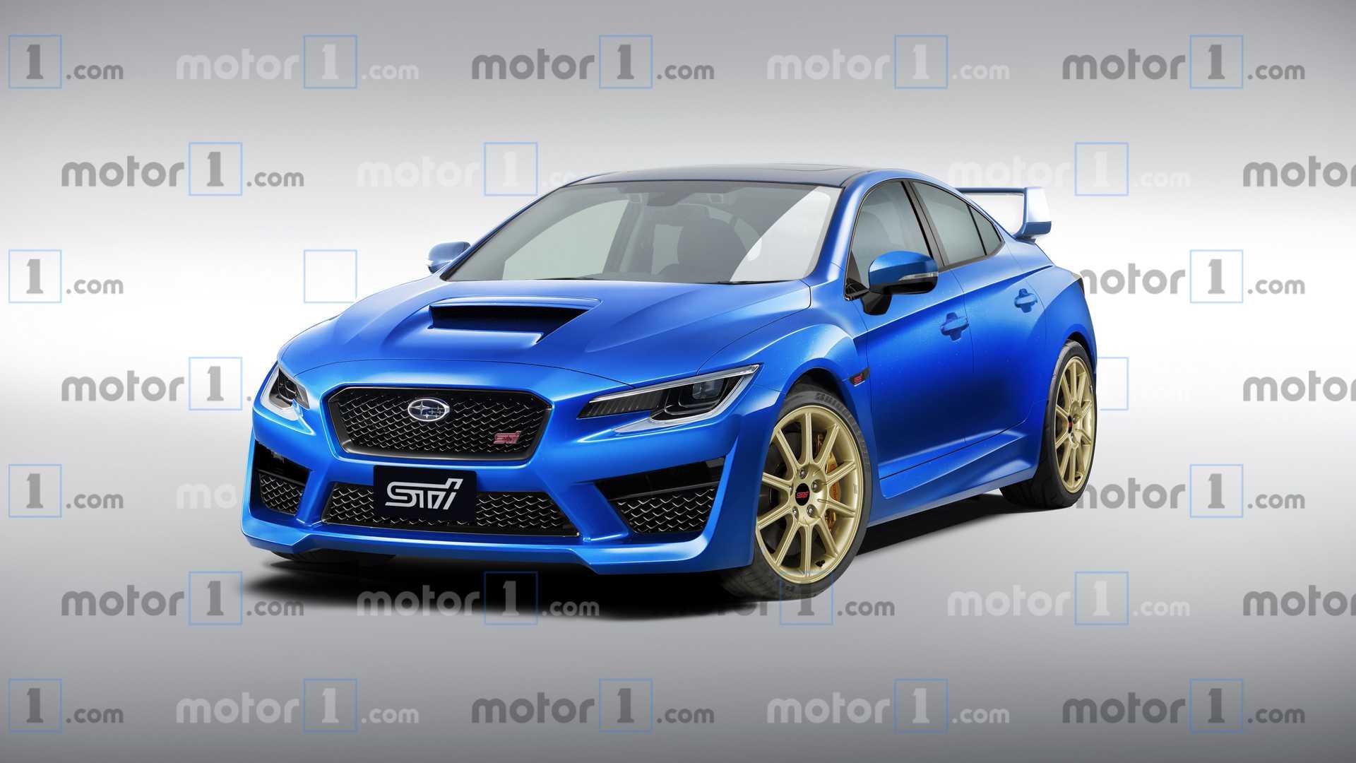 Nowe Subaru Impreza WRX STI z jednostką o pojemności 2,4 ...