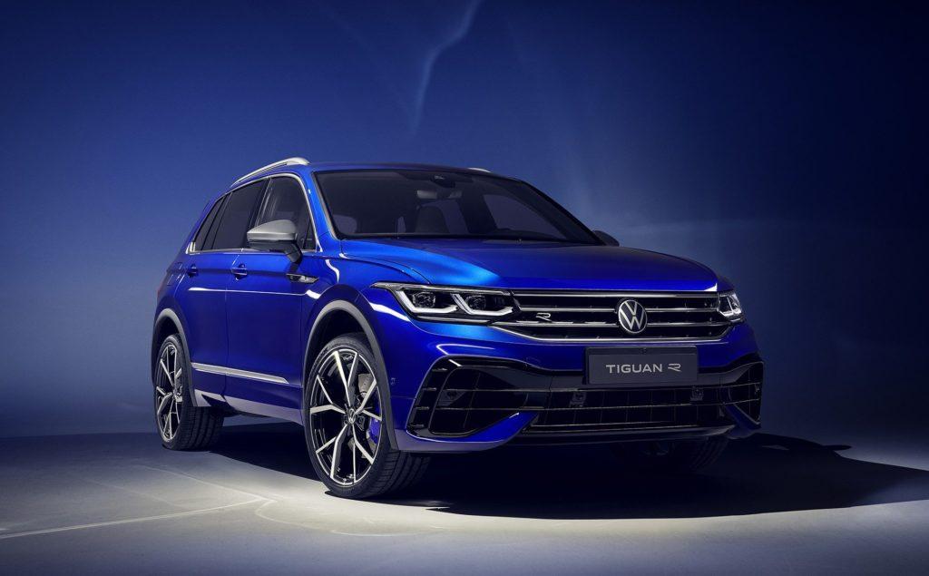 Volkswagen Tiguan po faceliftingu zadebiutuje w topowej wersji R