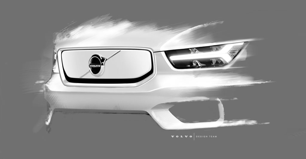 Elektryczne SUV'y w stylu Coupe przyszłością dla marki Volvo