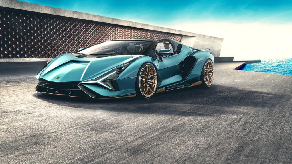 Lamborghini Sian oficjalnie zaprezentowane w wersji Roadster