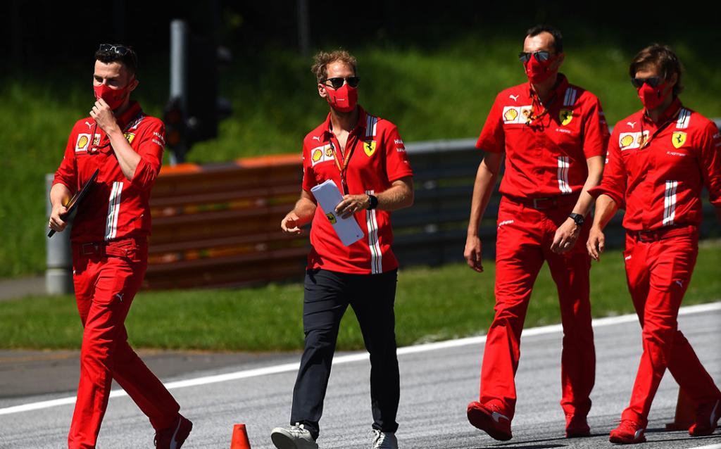 """Vettel: ,,Ferrari w ogóle nie zaproponowało mi nowego kontraktu"""""""