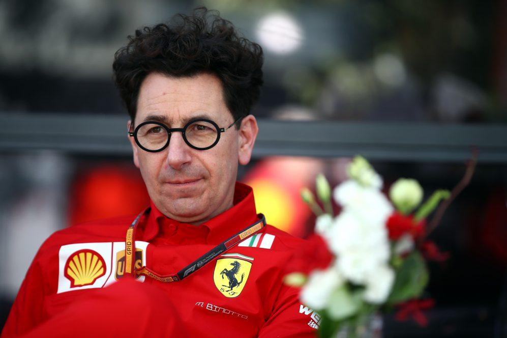 Wypowiedź Binotto symbolem rozkładu atmosfery w Ferrari