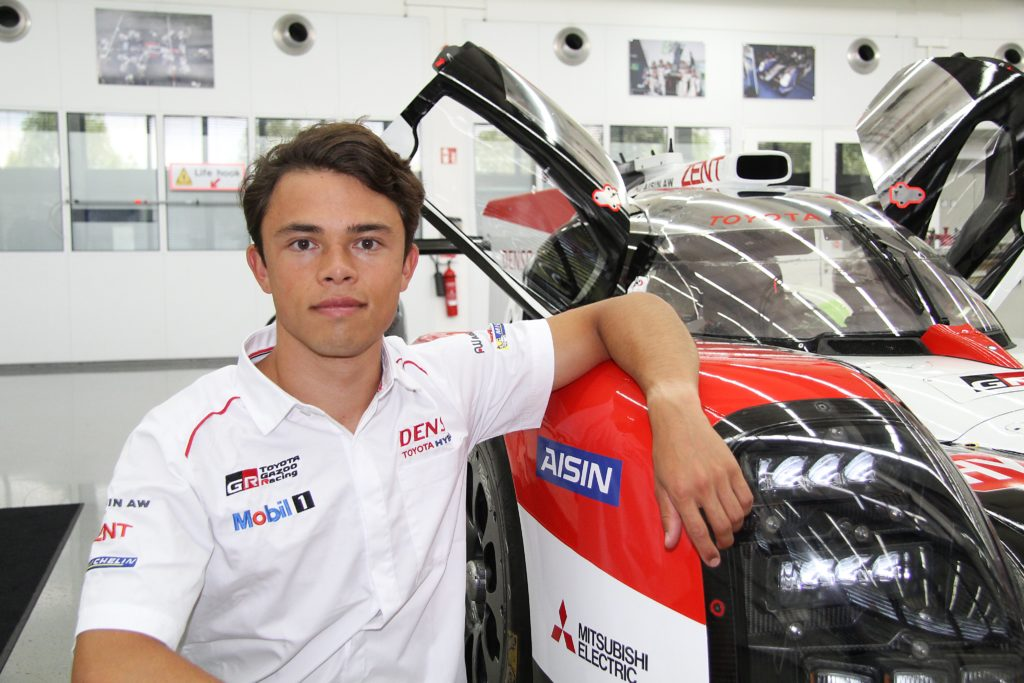 Nyck de Vries dołącza do Toyota Gazoo Racing w WEC