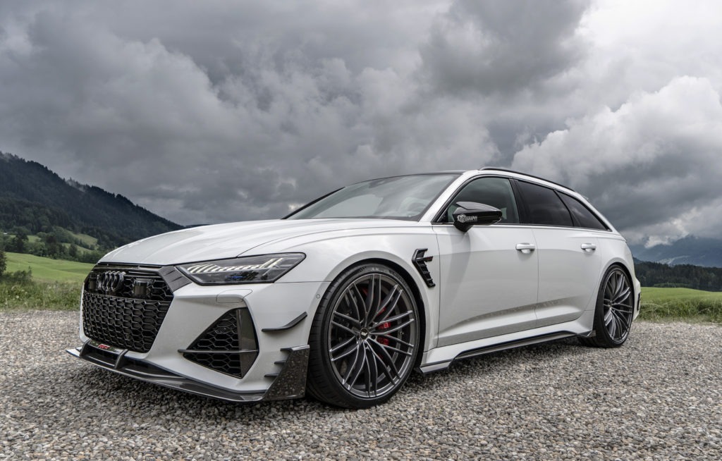 Audi RS6-R o mocy 740 koni mechanicznych ze stajni ABT na filmie