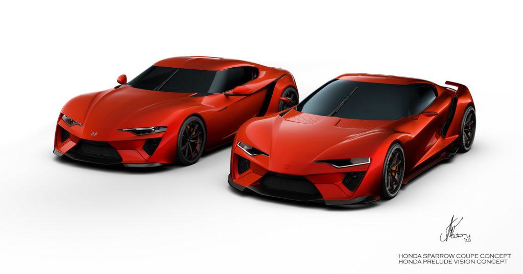 Honda Prelude i Sparrow jako rywale dla Toyoty Supry i Nissana 400Z