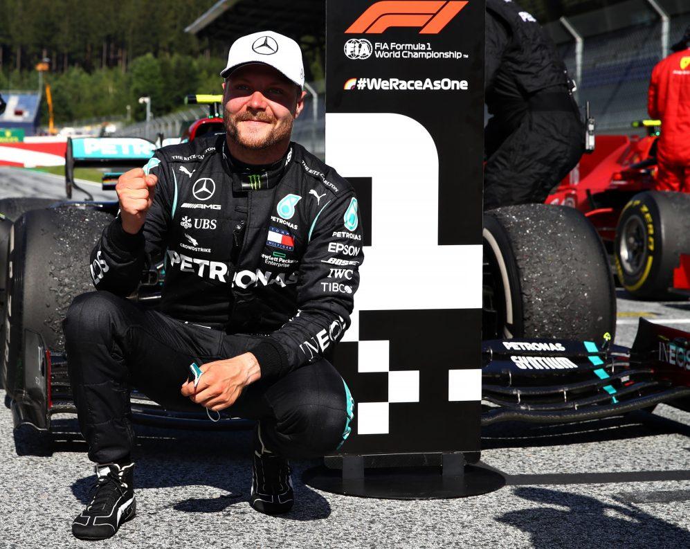 Valtteri Bottas wygrywa Grand Prix Austrii, genialni Leclerc i Norris