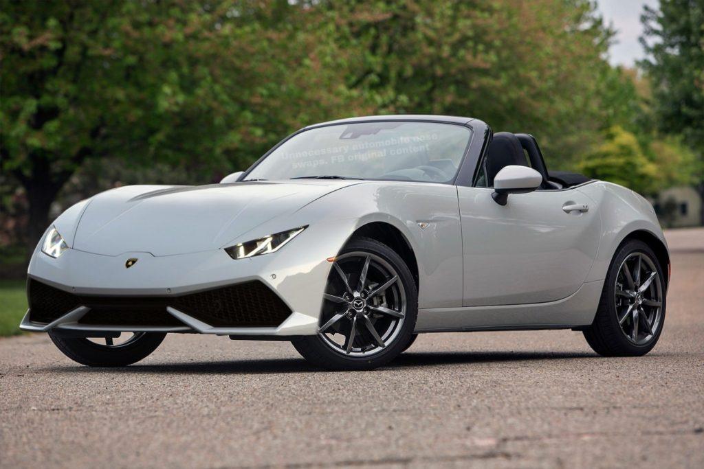 Mazda MX-5 w stylu Lamborghini wygląda o dziwo dobrze