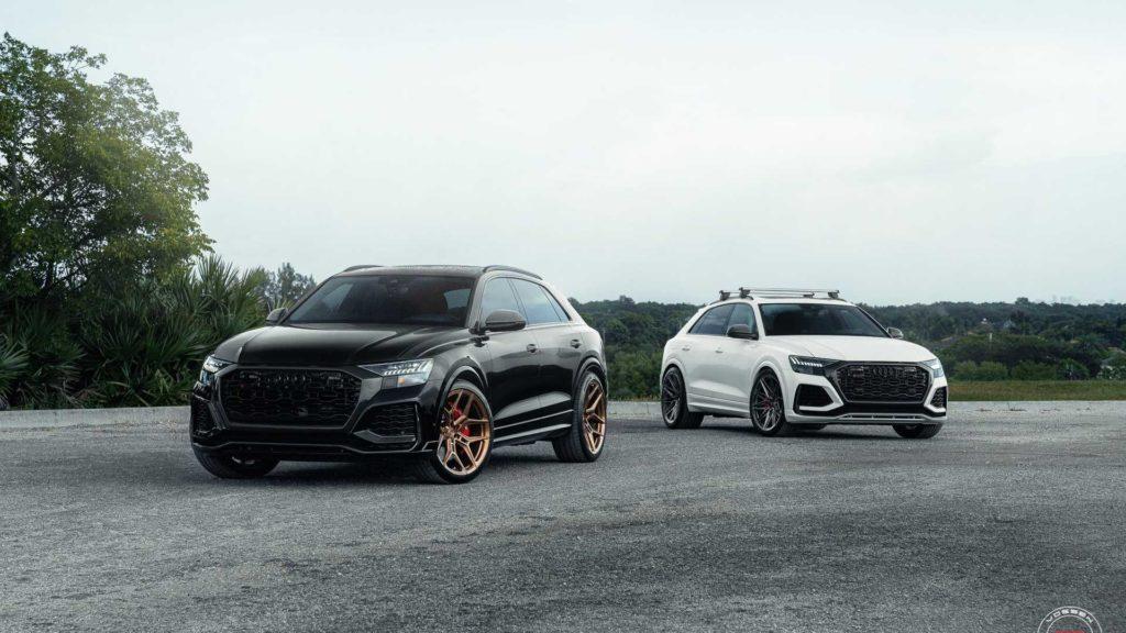 Vossen prezentuje nowe felgi na przykładzie dwóch Audi RS Q8