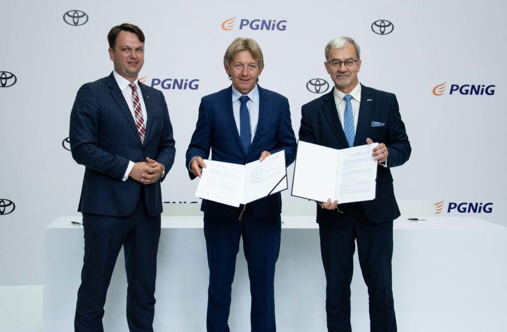 Toyota i PGNiG rozwiną infrastrukturę wodorową w Polsce