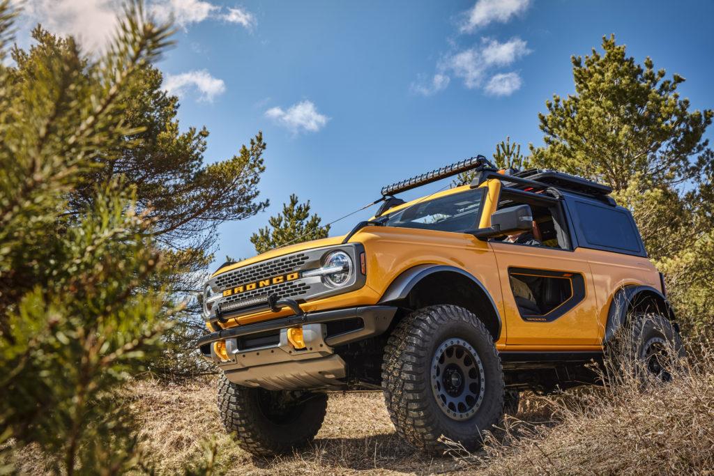 Ford Bronco z modyfikacjami utrudnionymi przez… cyberbezpieczeństwo