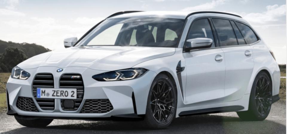 BMW M3 Touring może wyglądać dokładnie tak (ale nie musi)