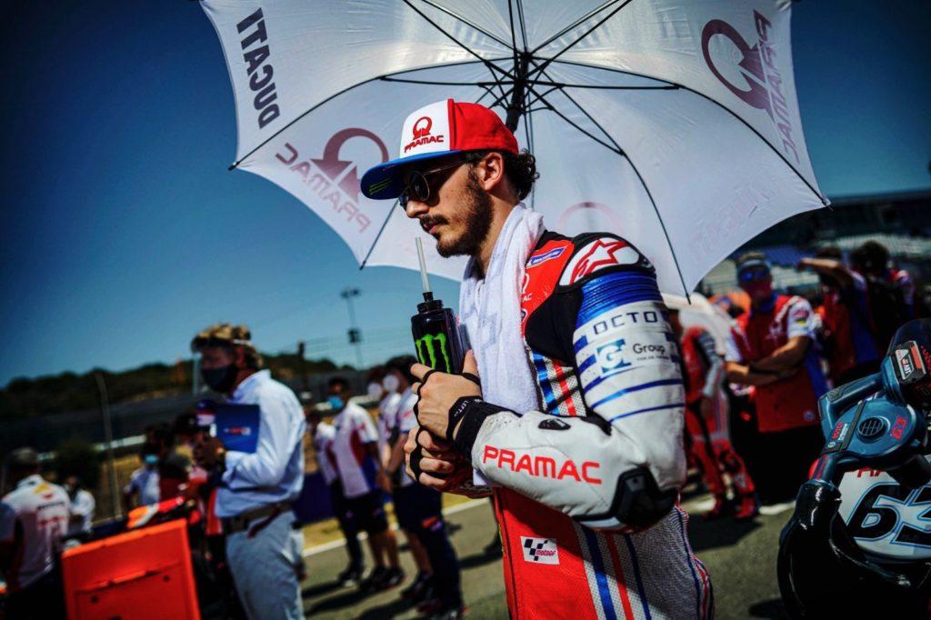 Pecco Bagnaia opuszcza Grand Prix Czech i Austrii