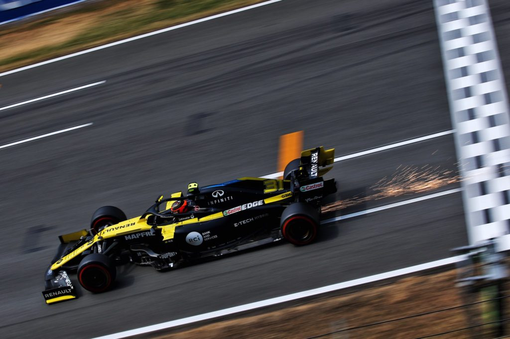 Ocon otrzyma nową jednostkę napędową na Grand Prix Belgii