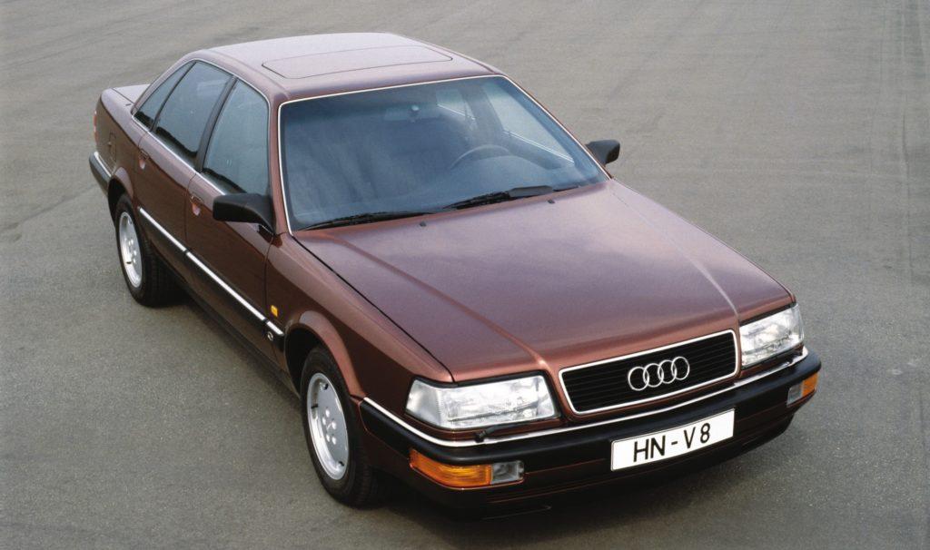 Audi V8 – pierwsze koty za płoty w segmencie premium