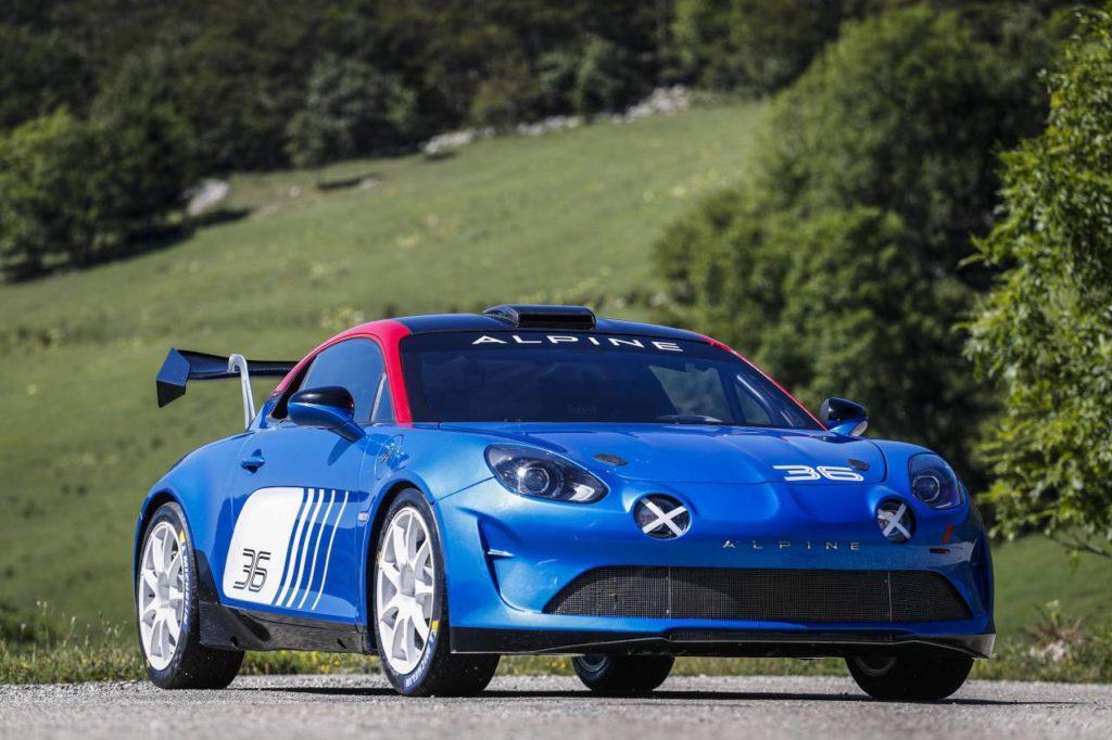 Alpine A110 otrzymało homologację rajdową R-GT