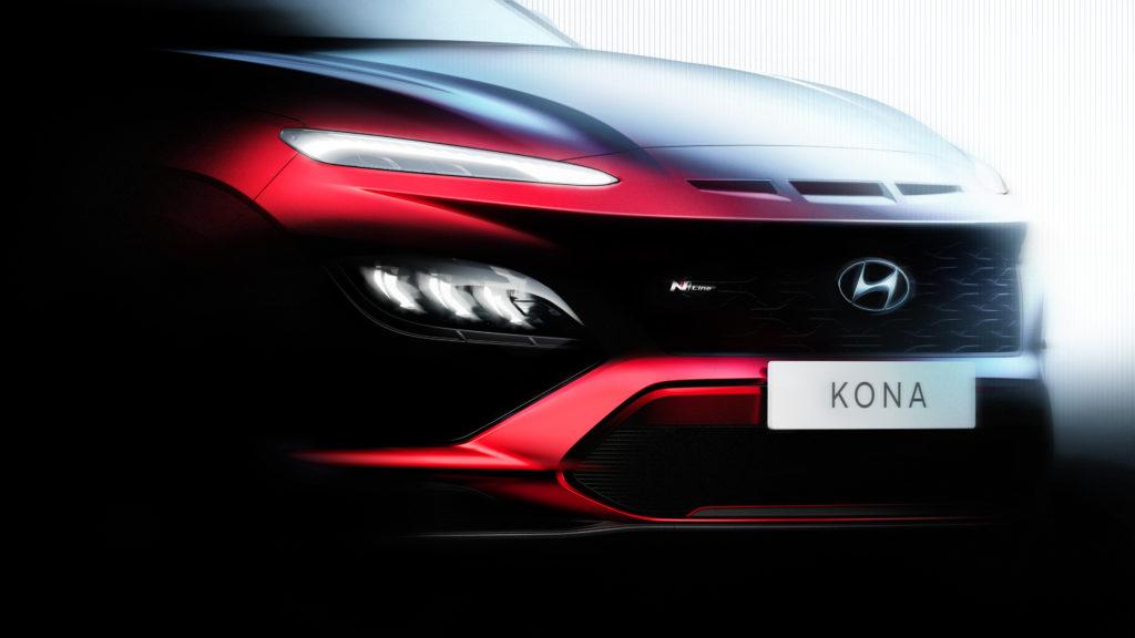 Hyundai Kona i Kona N Line po liftingu – oficjalna zapowiedź