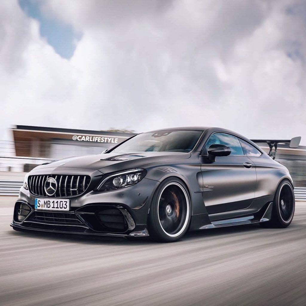 Nowy Mercedes-AMG C63 Black Series może wyglądać obłędnie
