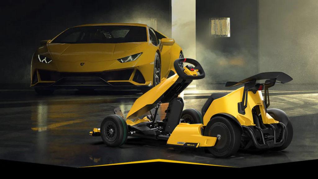 Gokart od Xiaomi pierwszym elektrycznym Lamborghini na rynku?