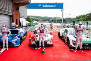 Rene Rast wygrywa drugie kwalifikacje w DTM na Spa