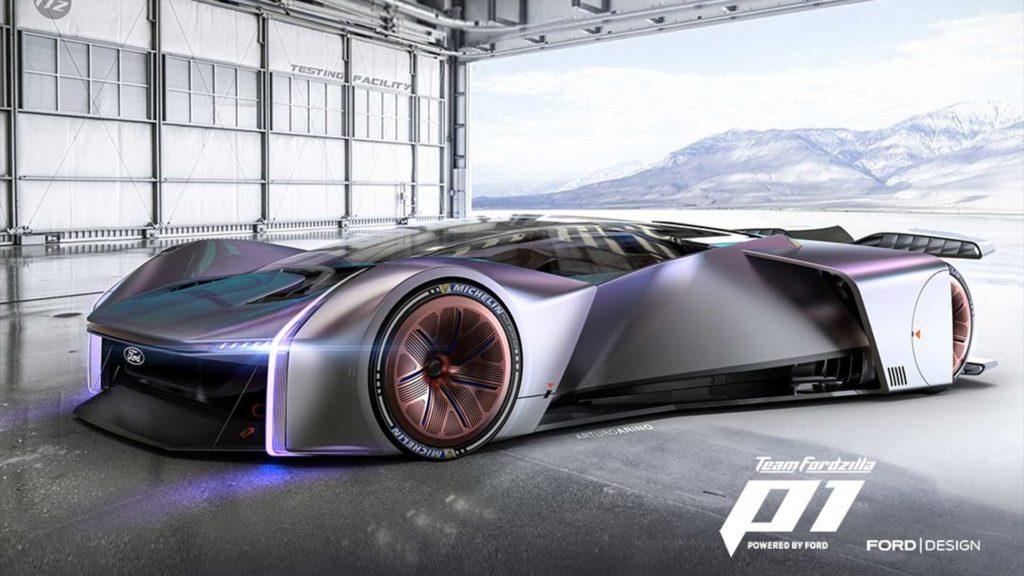 Fordzilla P1, czyli oficjalny hipersamochód od graczy i fanów