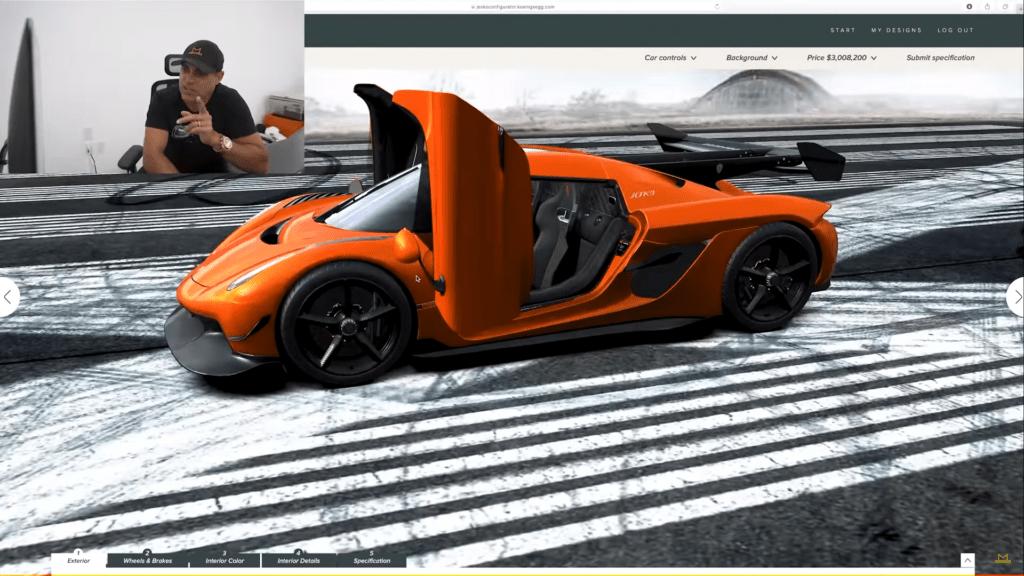 Koenigsegg Jesko z pojedynczą opcją za 443 400 dolarów