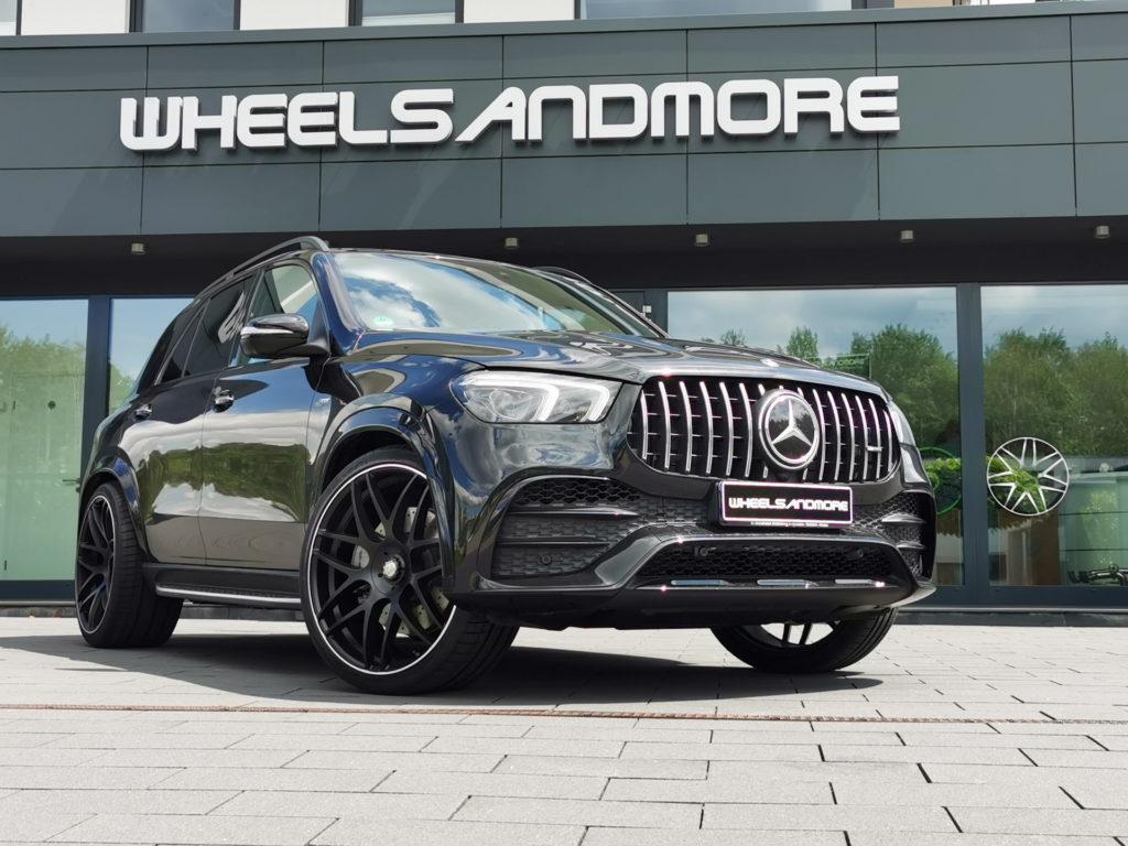 Mercedes GLE 63 AMG od Wheelssandmore osiąga moc 920 KM