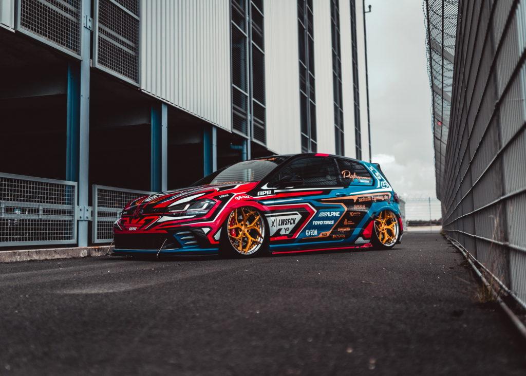 Golf GTI Clubsport by Yido – czyli kolorowanka o mocy 420 KM