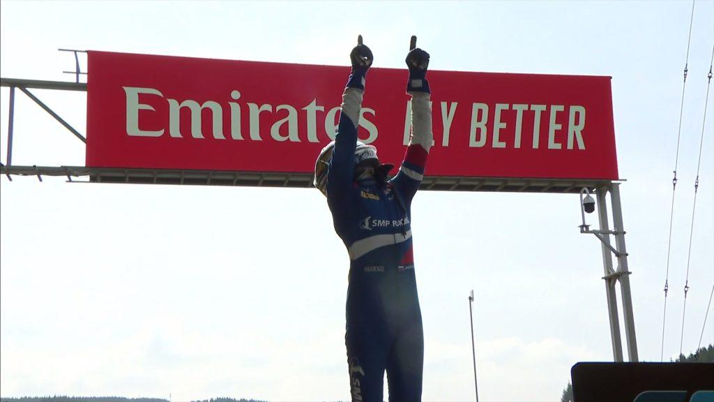 Genialny Shwartzman wygrywa sprint o Grand Prix Belgii F2