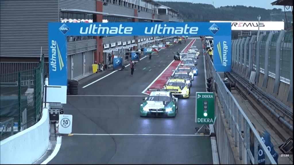 Nico Muller najszybszy w jedynym treningu serii DTM na Spa