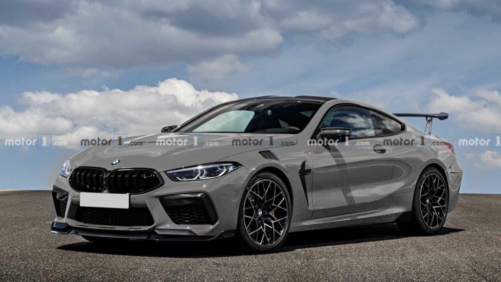 BMW M8 wygląda na renderach jeszcze lepiej w wersji CSL