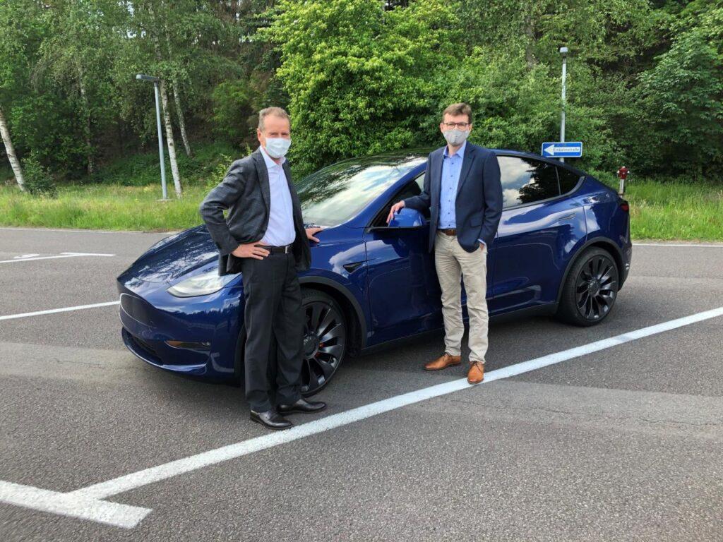 Diess pod wrażeniem Modelu Y. Nie będzie jednak współpracy VW-Tesla
