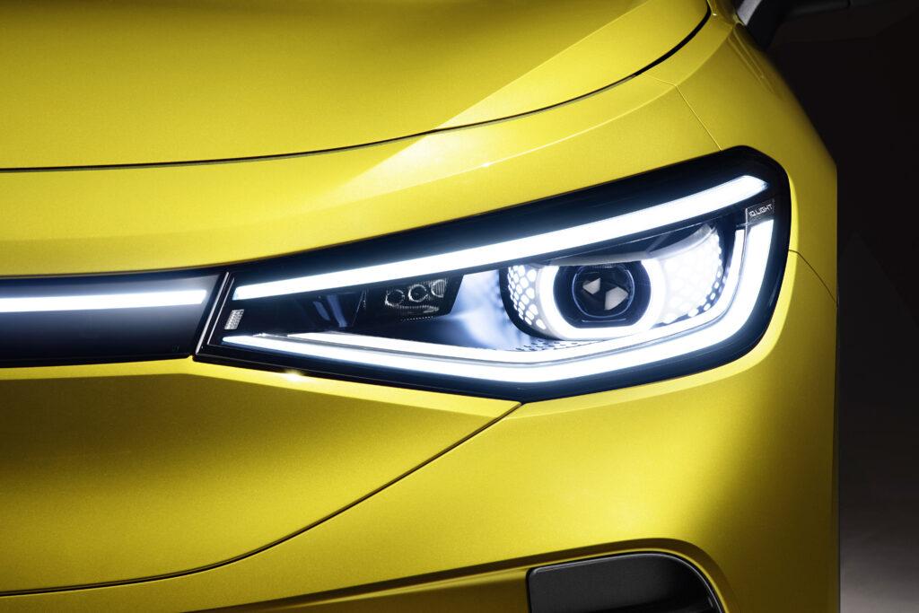 Zapowiedź nowego Volkswagena ID.4 – elektryzujące spojrzenie świateł