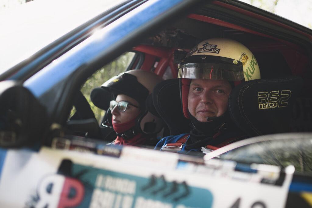 Marcin Biernat z Alicją Biernat zakończyli Kaczyce Rally Park Cup 2020