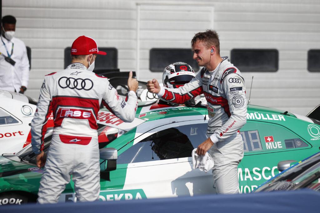 Nico Mueller dominuje sobotni wyścig na Nurburgringu!