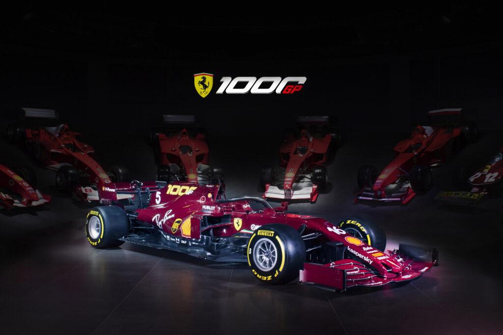 Ferrari pokazało specjalne malowanie na GP Toskanii