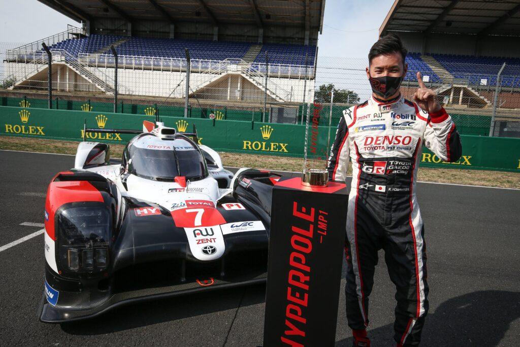 Kamui Kobayashi i Toyota na Pole Position do 24h Le Mans 2020