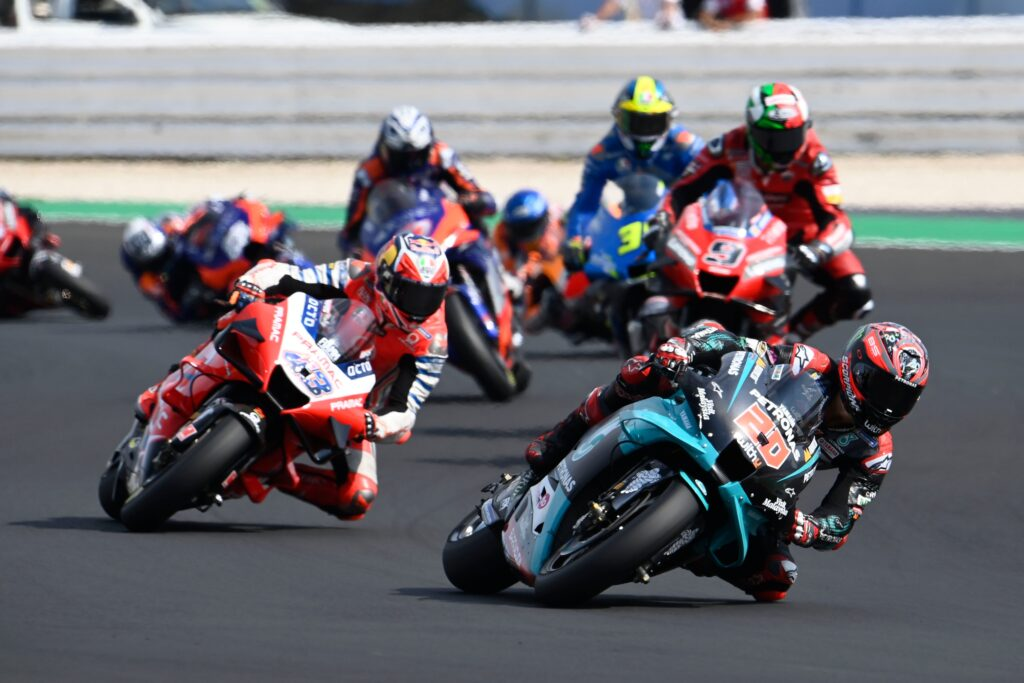Quartararo: Trudno wygrywać wyścigi, jeśli Yamaha nie jest na czele