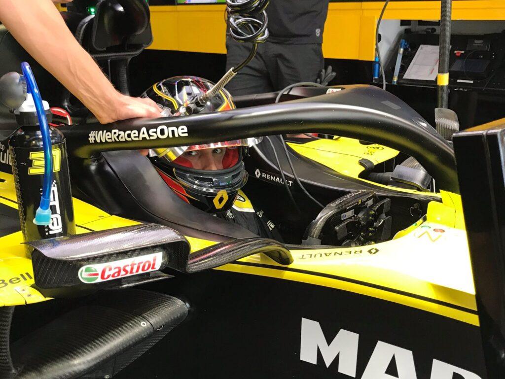 Esteban Ocon o swoim stincie sezonu w czasie Grand Prix Rosji