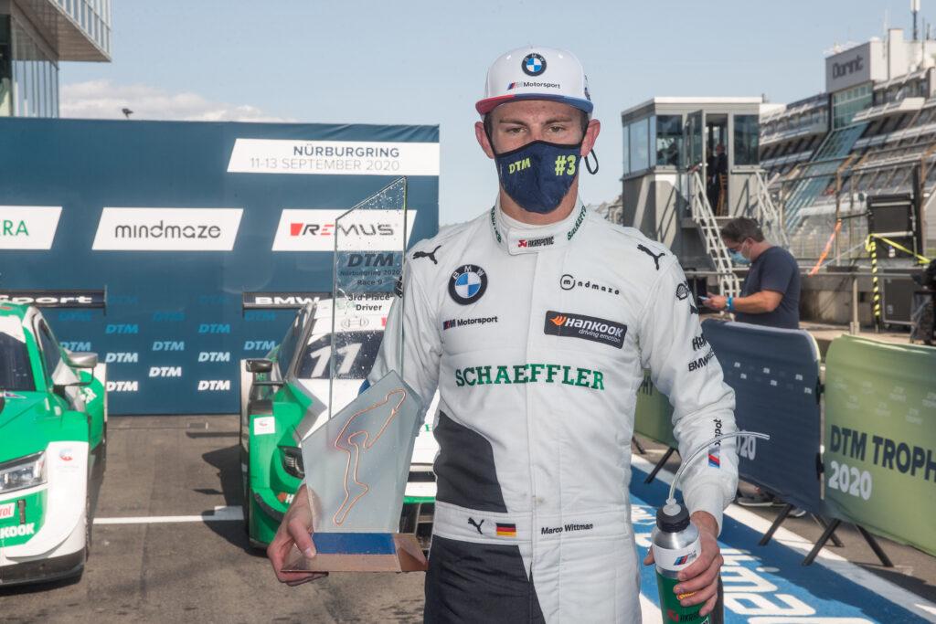 Marco Wittmann zadowolony z wywalczenia miejsca na podium