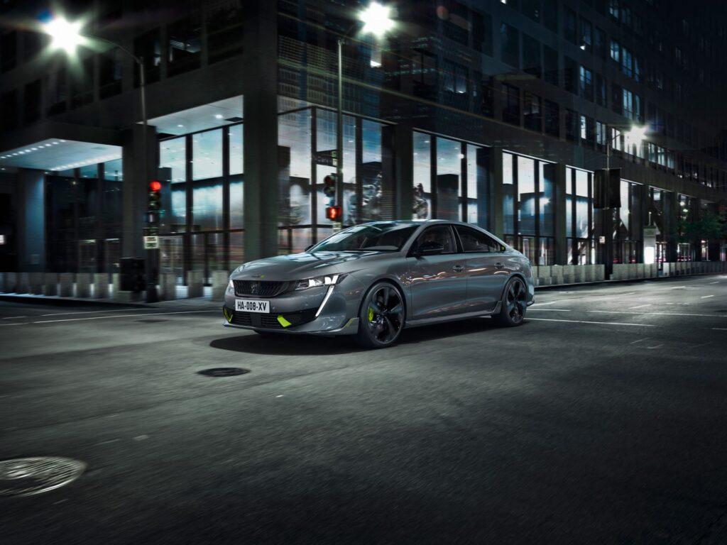 Peugeot 508 Sport Engineered – dane techniczne, wymiary, silniki, cennik