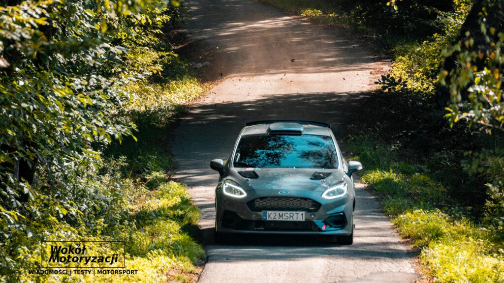 Fiesta Rally3 przyłapana przez nas w trakcie testów w Gminie Dębno
