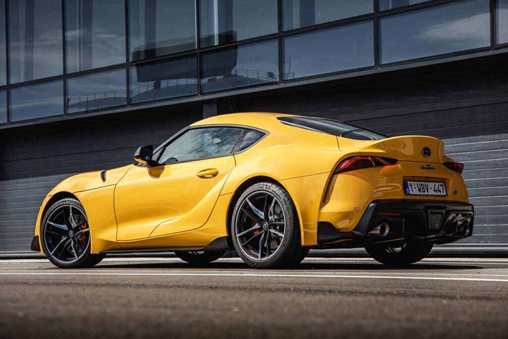 Toyota Supra testowana na Nurburgringu z nowym silnikiem?
